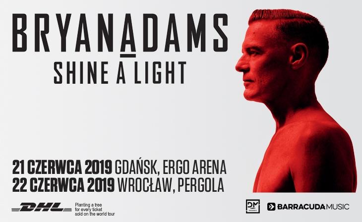 Bryan Adams w Polsce 2019